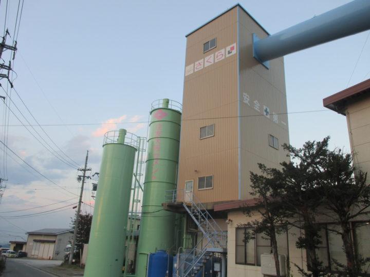 須坂市法人様 工場壁面塗装工事