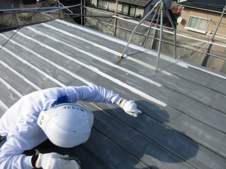 屋根塗装さび止め