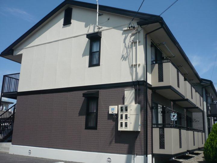 長野市A様 アパート外壁・屋根塗装工事