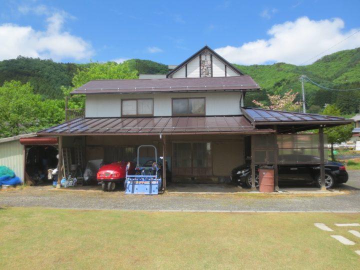 高山村K様 屋根改修・塗装工事
