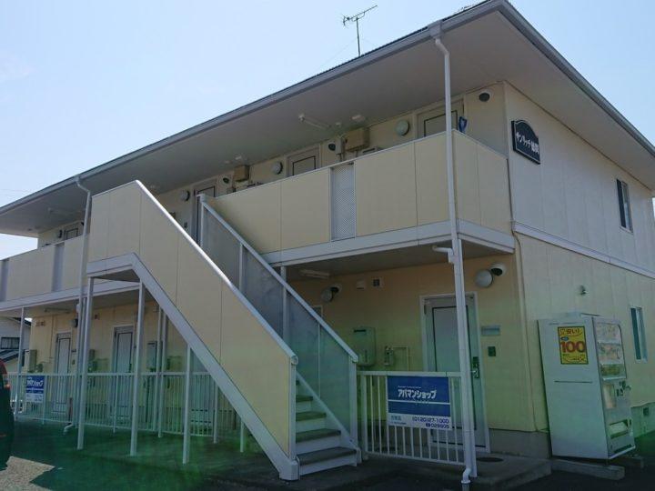 長野市 アパート外壁・屋根塗装