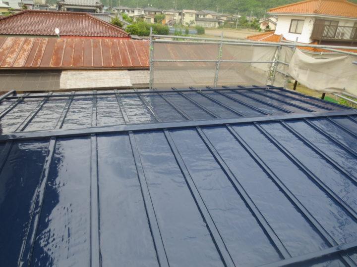千曲市N様 屋根塗装工事