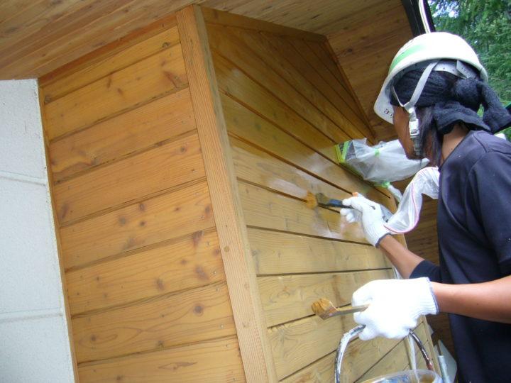 木部塗装(外壁)