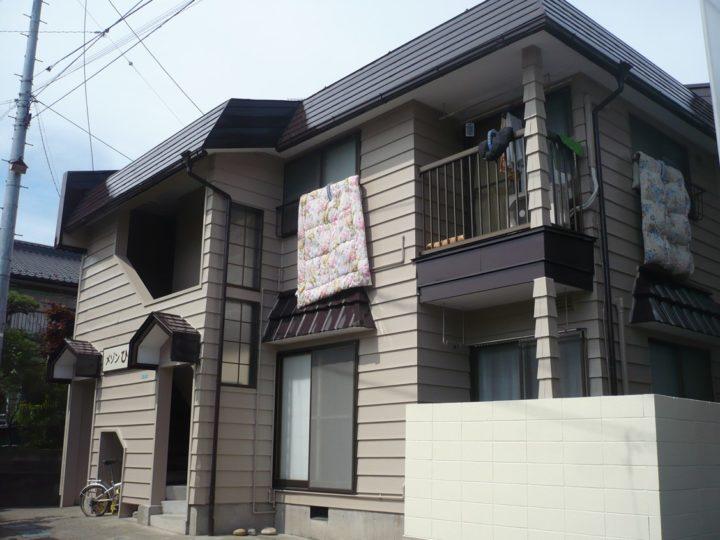 長野市K様アパート 外壁・屋根塗装工事