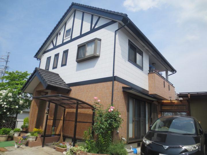 須坂市T様 外壁塗装工事