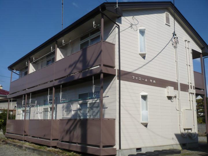 長野市M様 アパート外壁・屋根塗装工事