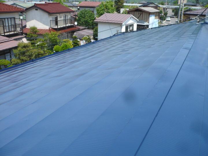 小布施M様 屋根塗装工事