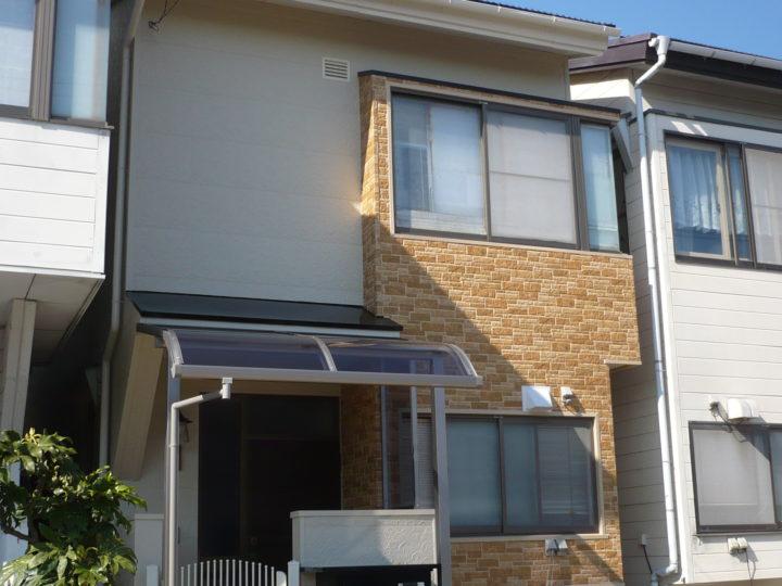 長野市Y様 屋根塗装、外壁サイディング張り工事