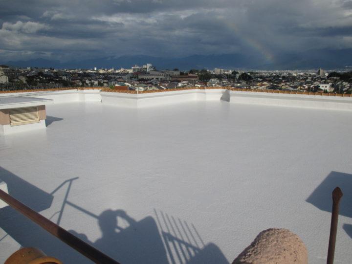 長野市 屋根防水遮熱塗装工事