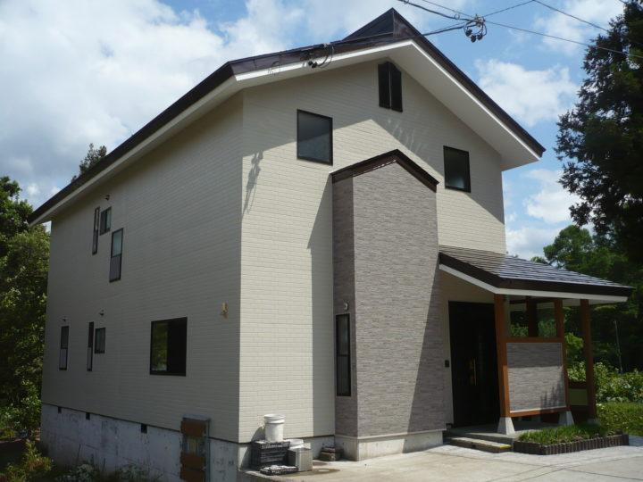 信濃町W様 外壁・屋根塗装工事