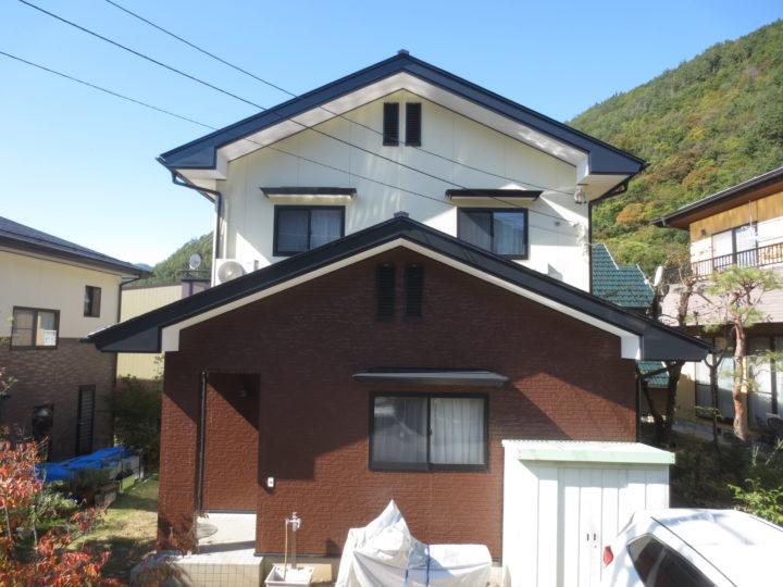 長野市O様 外壁・屋根塗装工事