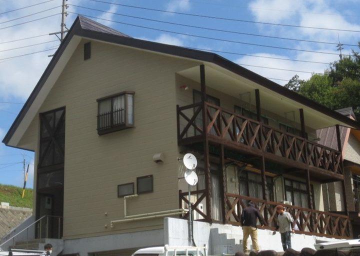 飯山市K様 外壁・屋根塗装工事