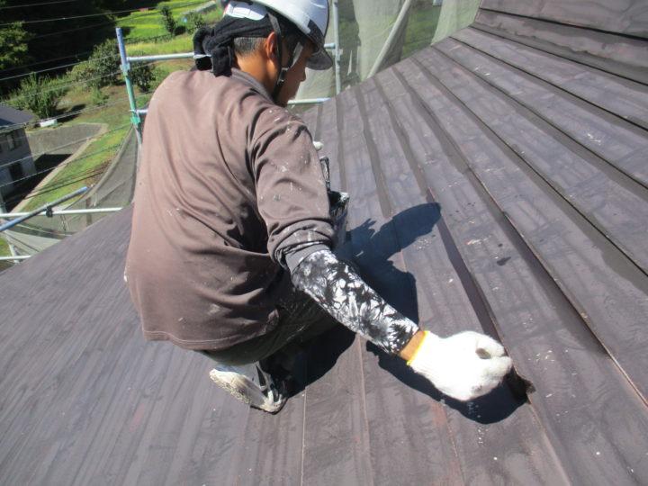 屋根塗装(サビ止め)
