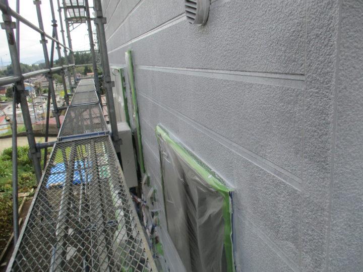 外壁塗装(下塗り後)
