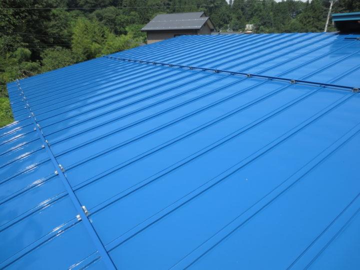 小川村N様 屋根塗装工事