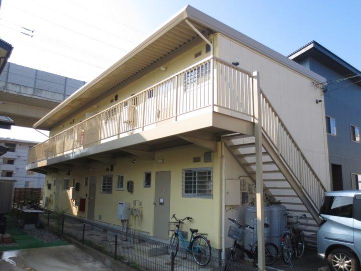 長野市N様 アパート屋根・外壁塗装工事
