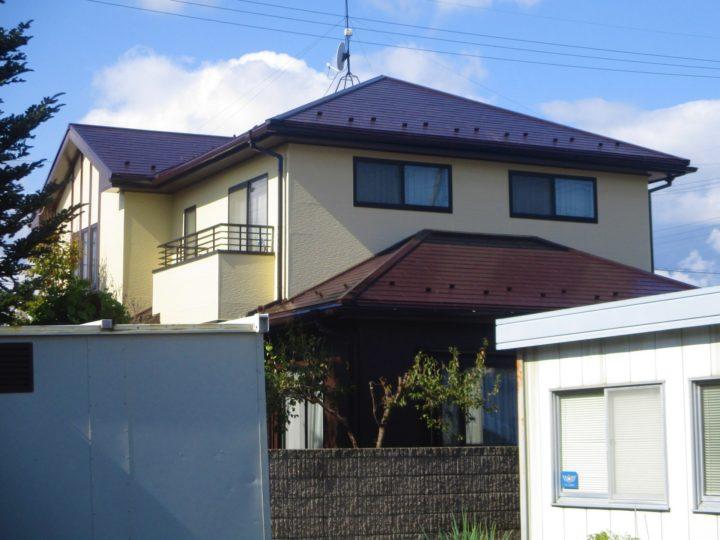 長野市K様 屋根・外壁塗装工事