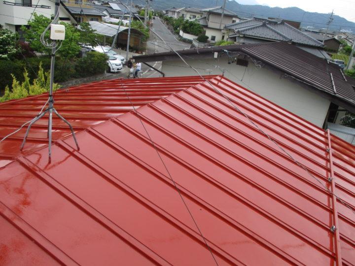 上田市F様 屋根塗装工事