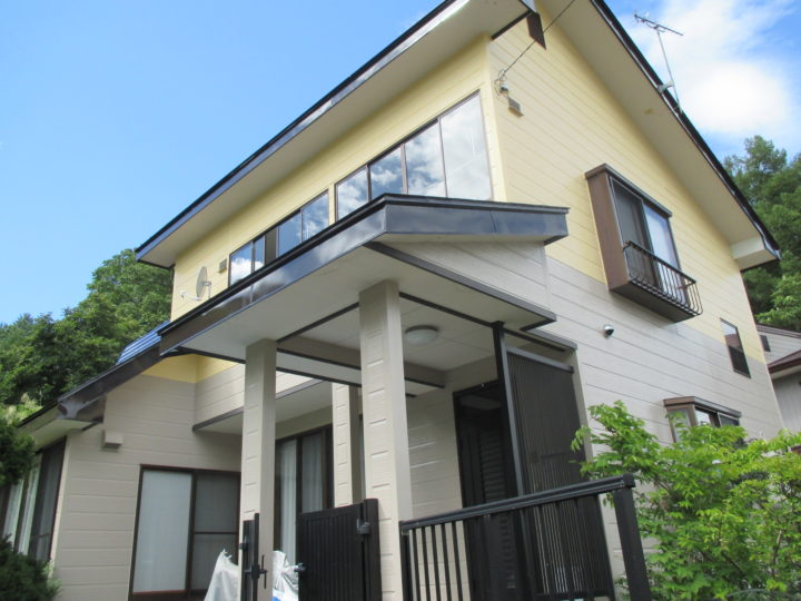 飯山市T様 外壁・屋根塗装工事