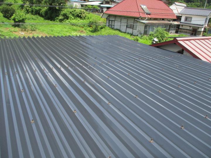 小川村S様 屋根塗装工事