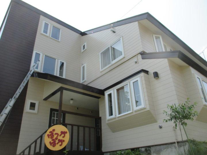 木島平M様 外壁・屋根塗装工事
