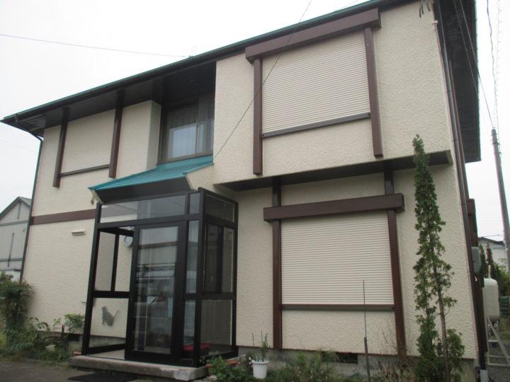 上田市Y様 【ミサワホーム】外壁・屋根塗装工事