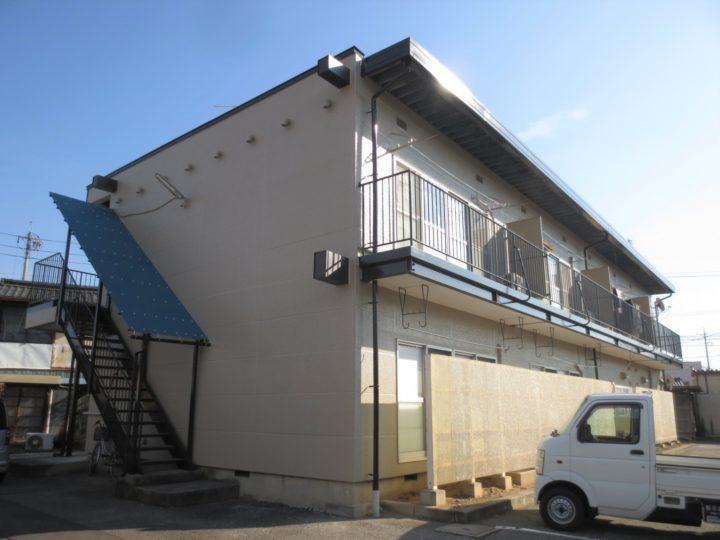 千曲市M様 アパート外壁・屋根塗装工事