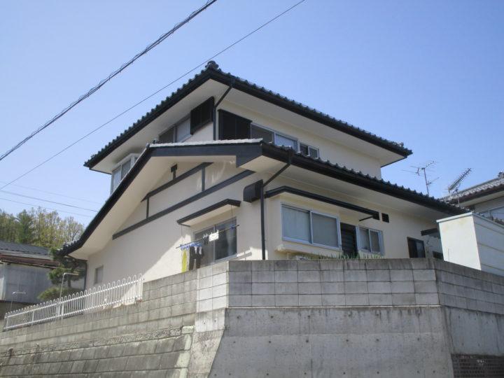 上田市S様 外壁・屋根塗装工事