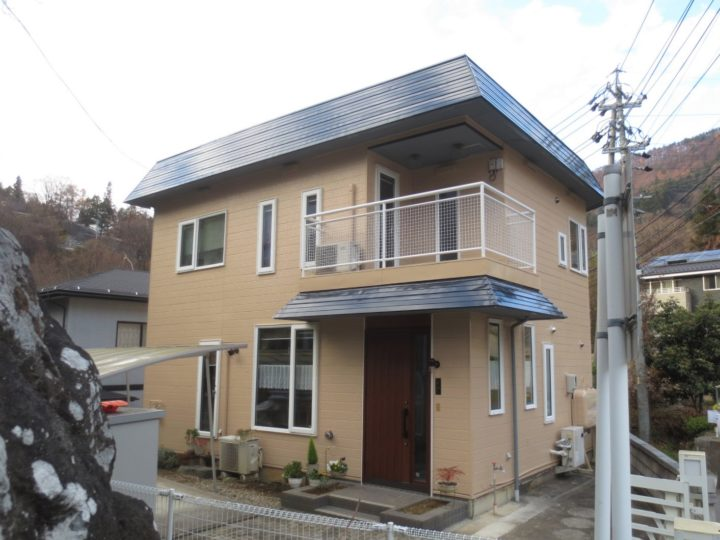 長野市H様 外壁塗装工事