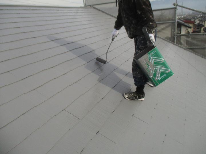 屋根塗装(2回目)