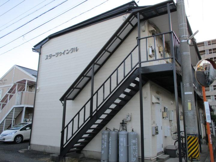 長野市【アパート】 外壁・屋根塗装工事