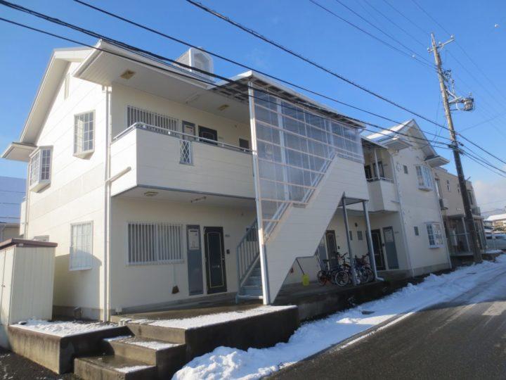 長野市S様 アパート外壁・屋根塗装工事
