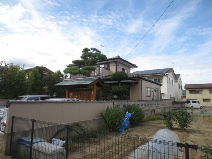 長野市 K様邸 屋根外壁塗装工事