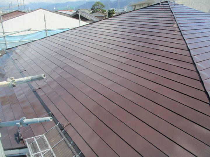 長野市 S様邸 屋根塗装工事