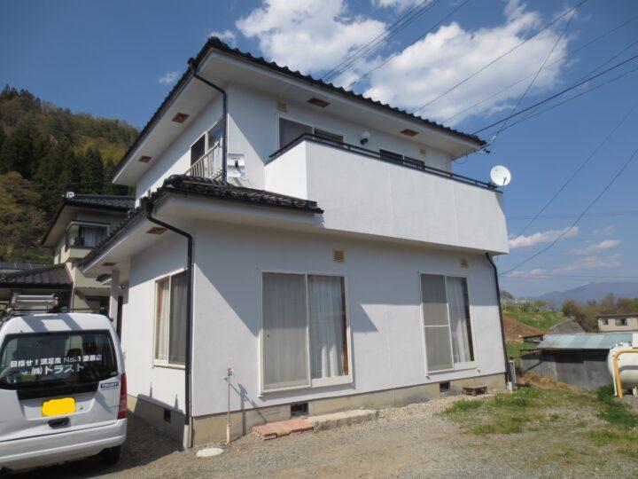 上田市N様 外壁塗装工事