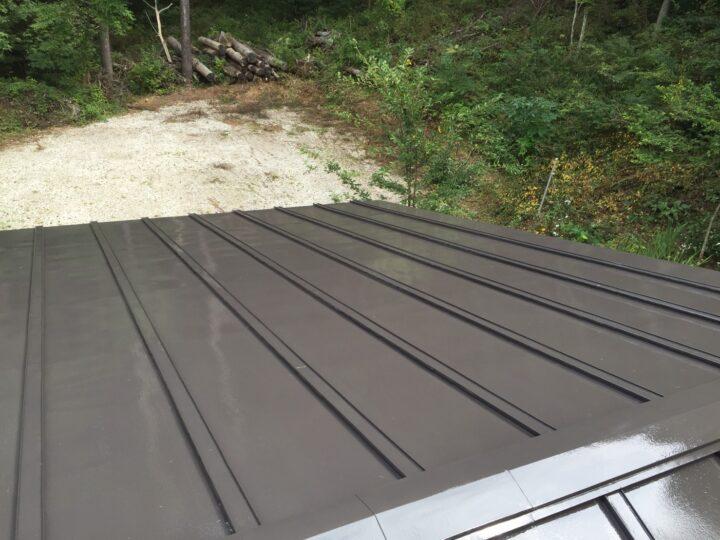 佐久市うぐいすの森 T様屋根塗装工事