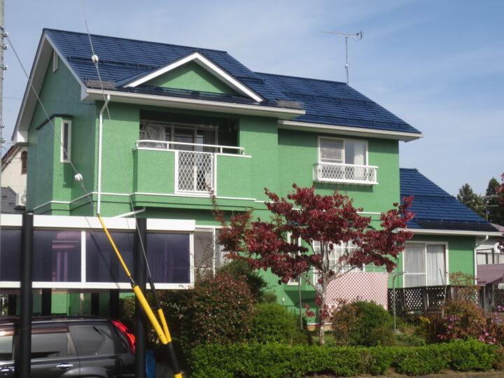 飯綱町M様 外壁・屋根塗装工事