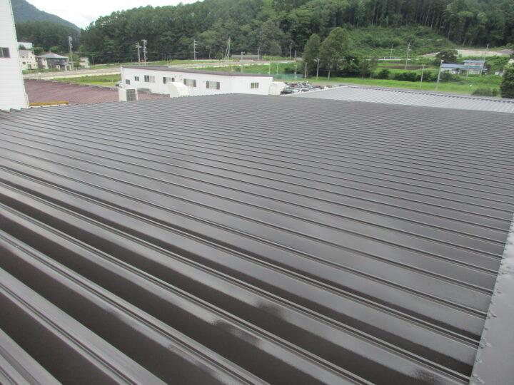 信濃町 【工場】屋根塗装工事