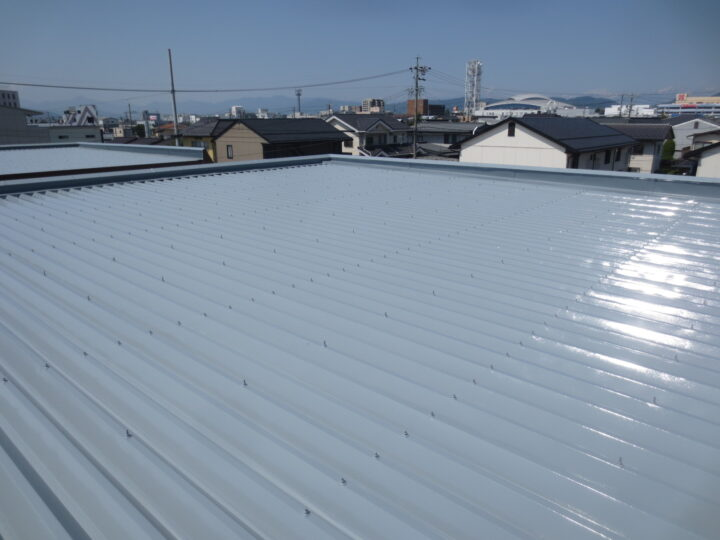 長野市O様 アパート屋根塗装工事