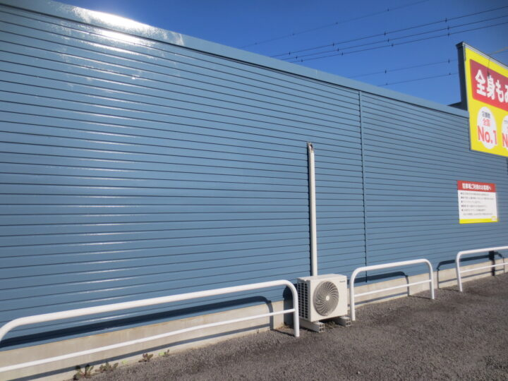 千曲市 【店舗】外壁・屋根塗装工事