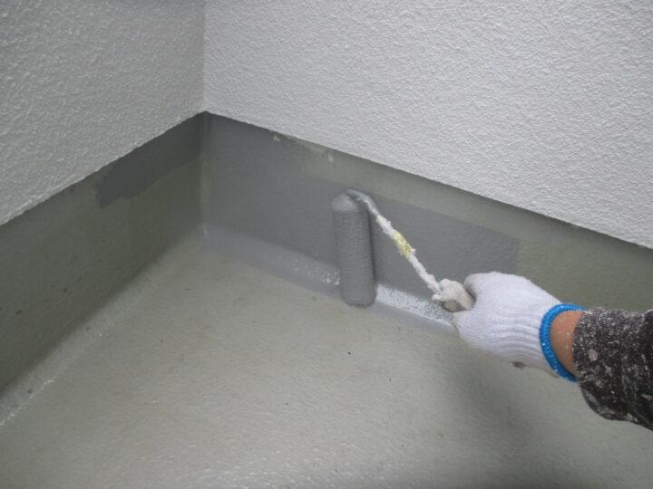 バルコニーFRP防水層塗装