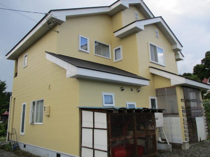 信濃町K様 外壁塗装工事