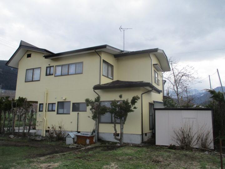 山ノ内町K様 外壁・屋根塗装、付帯部板金工事
