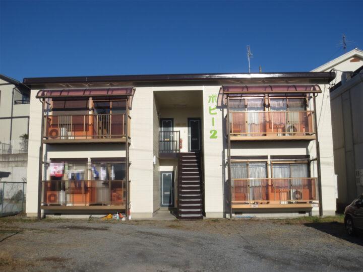 小諸市  アパート外壁・屋根塗装工事