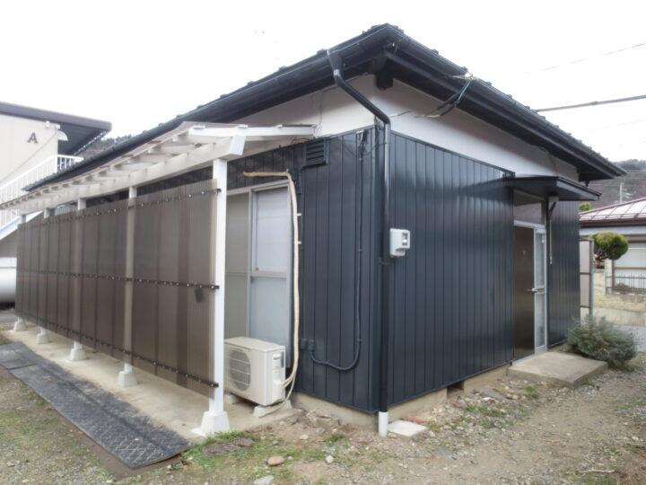 長野市 【戸建てアパート】外壁・屋根塗装工事