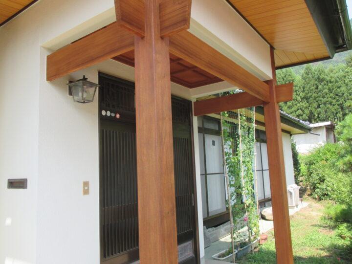 長野市C様 外壁・木部塗装工事