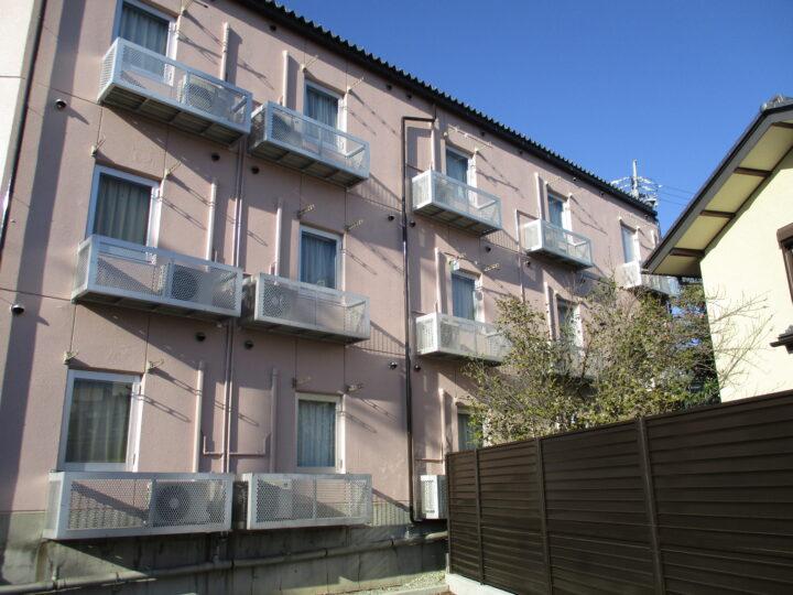 長野市 アパート外壁・屋根塗装工事