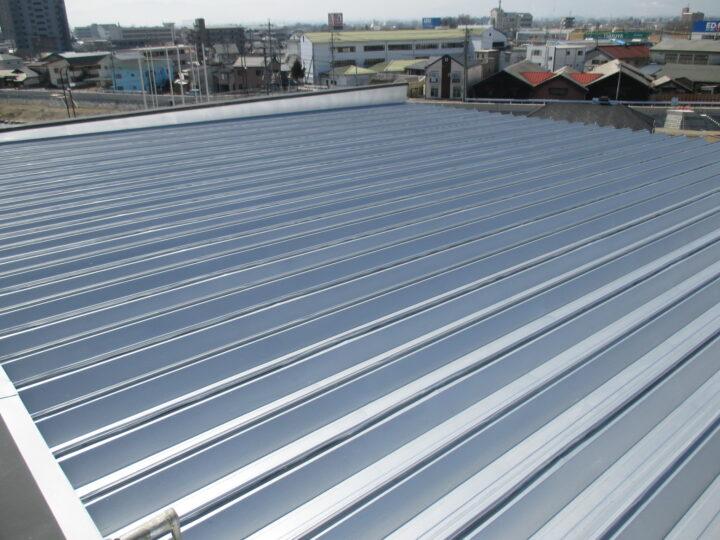 松本市 アパート屋根・階段塗装工事