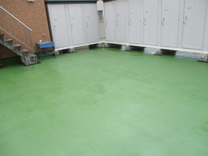 長野市 ビル屋上防水塗装工事