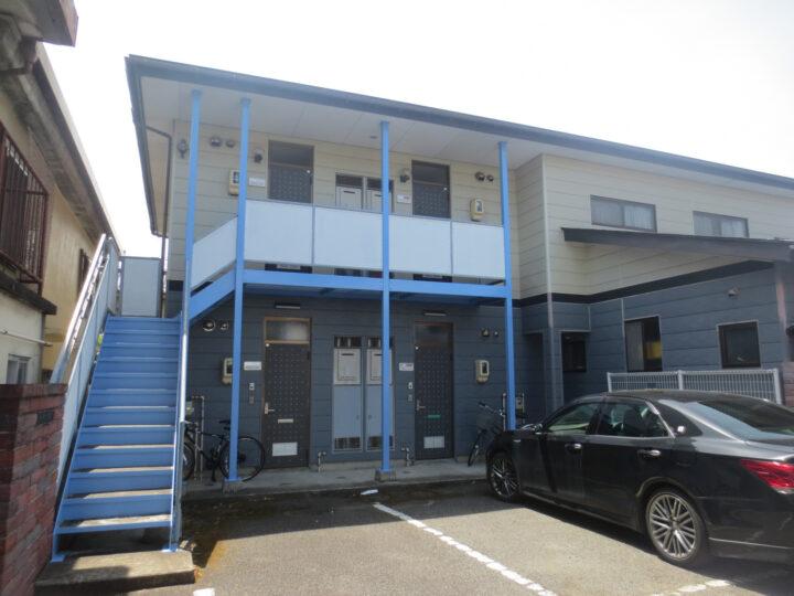 長野市K様 アパート屋根・階段塗装工事